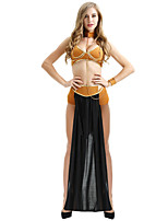 cheap -Cleopatra Cosplay Costume Outfits Party Costume Adults' Women's Cosplay Halloween Halloween Festival / Holiday Polyester Black / Brown Women's Easy Carnival Costumes / Bra / Briefs / Skirts