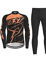 cheap -Men's Long Sleeve Cycling Jersey Black / Yellow Purple Red Novelty Bike Jersey Top Mountain Bike MTB Road Bike Cycling Quick Dry Sports Clothing Apparel / Micro-elastic