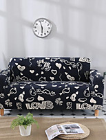 cheap -Stretch Slipcover Sofa Cover Couch Cover Letter Printed Sofa Cover Stretch Couch Cover Sofa Slipcovers for 1~4 Cushion Couch with One Free Pillow Case