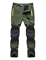 cheap -women's outdoor water resistant windproof fleece snow hiking pants us16606w armygreen s