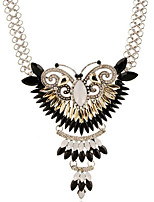 cheap -Women's Choker Necklace Classic Butterfly Fashion Alloy Silver 55 cm Necklace Jewelry 1pc For Anniversary Festival