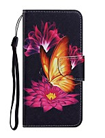 cheap -Case For Samsung Galaxy Note 20 Ultra S20 Plus S10E A11 A21S A31 A41 A51 A71 A01 A10 A20E A30 A40 A50 A70 M31 Wallet Card Holder with Stand Full Body Cases Butterfly PU Leather