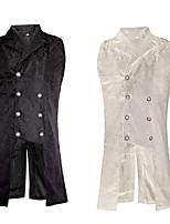 cheap -Plague Doctor Vintage Steampunk Winter Masquerade Vest Tuxedo Men's Costume White / Black Vintage Cosplay Party Halloween