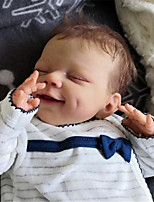 cheap -20 inch Reborn Doll Baby & Toddler Toy Baby Girl Reborn Baby Doll April Newborn lifelike Hand Made Simulation Floppy Head Cloth Silicone Vinyl with Clothes and Accessories for Girls' Birthday and