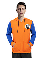 cheap -Inspired by Dragon Ball Son Goku Anime Cosplay Costumes Japanese Cosplay Hoodies Hoodie For Men's