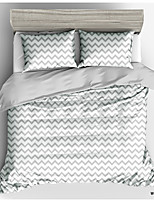 cheap -Simple Pattern Series 3D Print 3-Pieces Duvet Cover Set Hotel Bedding Sets Comforter Cover with Soft Lightweight Microfiber(Include 1 Duvet Cover and 1 or 2 Pillowcases)