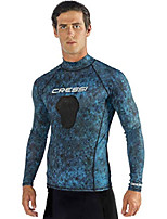 cheap -hunter rash guard, camo blue, xxxl