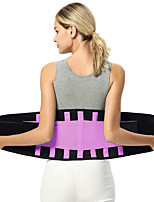 cheap -Body Shaper Sweat Waist Trimmer Sweat Waist Trainer Corset Sports Polyster Yoga Gym Workout Pilates Durable Weight Loss Tummy Fat Burner Hot Sweat For Women