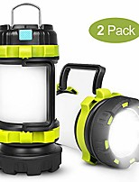 cheap -rechargeable camping lantern,camping lights with 800lm,6light modes,3800mah power bank, ipx4 waterproof,perfect for camping light hurricane,emergency,hiking,outdoor(2 pack)