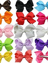 cheap -20/30pcs colorful dog hair bows mix styles dog bow pet grooming products mix colors pet hair bows topknot alligator clips