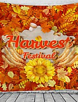 cheap -Harvest Festival Holiday Party Wall Tapestry Art Decor Blanket Curtain Picnic Tablecloth Hanging Home Bedroom Living Room Dorm Decoration Polyester