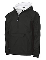 cheap -plus wind& water-resistant pullover rain jacket (reg/ext sizes), black, 4xl