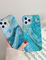 cheap -Case For Apple iPhone 7 8 7plus 8plus X XR XS XSMax SE(2020) iPhone 11 11Pro 11ProMax iPhone 12 Shockproof Ultra-thin Pattern Back Cover Marble TPU