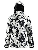 cheap -Women's Ski Jacket Skiing Snowboarding Winter Sports Waterproof Windproof Warm 100% Polyester Top Ski Wear