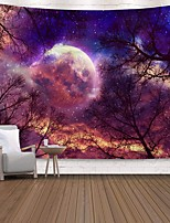cheap -Wall Tapestry Art Decor Blanket Curtain Picnic Tablecloth Hanging Home Bedroom Living Room Dorm Decoration Polyester Print Colorful Tree Sky Abstract