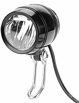 cheap -e-bike headlight 2 in 1 set aluminum front light headlamp light with 1.5m length cable includes headlight and horn & #40;silver& #41;