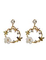 cheap -Women's Drop Earrings Earrings Bee Korean Sweet Fashion Imitation Diamond Earrings Jewelry Gold For Birthday Gift Date Vacation 1 Pair
