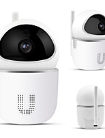 cheap -QZT IP Camera WiFi Home Security Camera IP 355 Night Vision Baby Monitor Indoor Mini Surveillance CCTV Wireless Wifi Home Camera