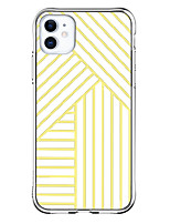 cheap -Stripes Case For Apple iPhone 12 iPhone 12 Mini iPhone 12 Pro Max Unique Design Shockproof Back Cover TPU