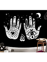 cheap -Tarot Divination Wall Tapestry Art Decor Blanket Curtain Picnic Tablecloth Hanging Home Bedroom Living Room Dorm Decoration Mysterious Bohemian Hand Moon Psychedelic Witch