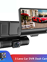 cheap -4 ''Drie-weg Auto Camera Drie Lens Video Registrator Dash Cam Video Recorder G-sensor Auto dashcam DVR Rijden Recorder