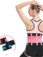 cheap -Body Shaper Sweat Waist Trimmer Sweat Waist Trainer Corset Sports Rubber Polyster Yoga Gym Workout Pilates Durable Weight Loss Tummy Fat Burner Hot Sweat For Women