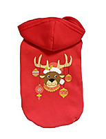 cheap -christmas dog hoodie sweater hooded sweatshirt costume clothes for small dogs