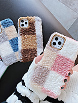 cheap -Winter Plush Protection Cover for Apple iPhone Case 11 Pro Max X XR XS Max 8 Plus 7 Plus SE(2020)