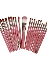 cheap -20pieces professional makeup brushes set - foundation eyeshadow eyeliner eyebrow concealer lip brush & #40;pink& #41;