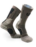 cheap -Men's Women's Ski Socks Ski / Snowboard Basketball Camping Thermal Warm Breathable Socks Ski Wear / Stretchy