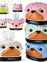 cheap -Fashion Cartoon Bobby Dog Bear Pig Multifunction Pumping Paper Mapkin Tray Storage Box Tissue Boxes