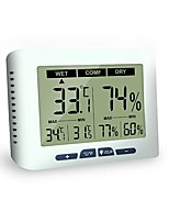 cheap -Digital Thermo Hygrometer Indoor Humidity Temperature Monitor / Switch for Home Office Greenhouse Warehouse.