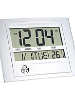 cheap -Multi-function Electronic Temperature Meter Digital Calendar Wall Clock Alarm Clock