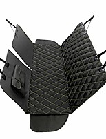cheap -dog seat cover for car back seat, machine washable, dog hammock scratch-proof, waterproof, non-slip, durable portable car back seat protector for cars, trucks, suvs, black