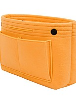 cheap -purse organizer bag in bag cosmetic storage makeup organizers felt container organizer storage bag organizing home girl handbag orange