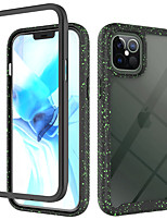 cheap -Case For iPhone 11 Shockproof Transparent Back Cover Transparent Solid Colored Geometric Pattern TPU Acrylic PC Case For iPhone 11 Pro Max / SE2020 / XS Max / XR XS 7 / 8 7 / 8 plus