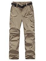 cheap -boy's casual quick dry outdoor convertible trail pants hiking climbing trouers kids' cargo pants khaki