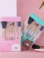 cheap -cartoon makeup makeup brush set 5-piece set eye shadow brush foundation brush blush and eyebrow brush for beginners