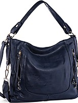 cheap -handbags for women, women's shoulder bags pu leather hobo handbags top-handle purse for ladies (blue)