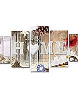 cheap -modren heart of love home art abstract flowers canvas painting print artwork wall picture for bedroom wall decor