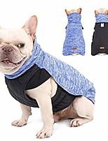 "cheap -dog winter coat pet warm reversible jacket soft resilience turtleneck vest (size m(back:14"" chest:22""), grey)"