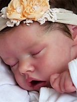 cheap -17 inch Reborn Doll Baby & Toddler Toy Baby Girl Reborn Baby Doll Twins A Newborn lifelike Hand Made Simulation Floppy Head Cloth Silicone Vinyl with Clothes and Accessories for Girls' Birthday and