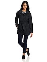cheap -women's pardon my trench rain jacket, jewel, xs
