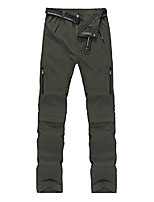 cheap -men's windproof breathable quick drying outdoor convertible pants 2x-large dark green