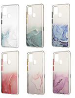 cheap -Case For Samsung Galaxy S20 Plus S20 Ultra S20 Note 20 20Ultra A21S A01 Core Shockproof IMD Pattern Back Cover Glitter Shine Marble TPU Acrylic