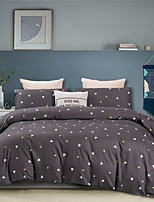 cheap -Triangle Print 3 Pieces Bedding Set Duvet Cover Set Modern Comforter Cover-3 Pieces-Ultra Soft Hypoallergenic Microfiber Include 1 Duvet Cover and 1 or2 Pillowcases