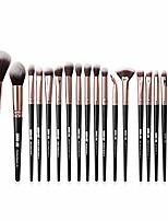 cheap -makeup brushes set 22pcs, premium cosmetic foundation eye brushes eyeshadow lip blending makeup tool