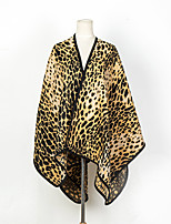 cheap -Sleeveless Shawls / Classy Imitation Cashmere Wedding / Party / Evening Shawl & Wrap / Women's Wrap With Leopard