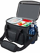 cheap -lunch box for men, 18 cans large leak-proof insulated lunch box, soft adult big mens lunch bag with shoulder strap and side pocket for work and outdoor by