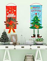 cheap -2pcs Hanging Pictures Christmas Decorations Christmas Ornaments, Holiday Decorations Party Garden Decoration 115*40 cm